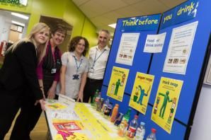 Smaller chocolate bars and healthier popcorn as Airedale Hospital introduces healthy eating strategy